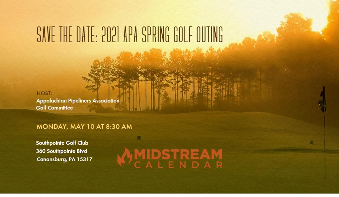 Appalachian Pipeliners Association Golf Tournament – Spring