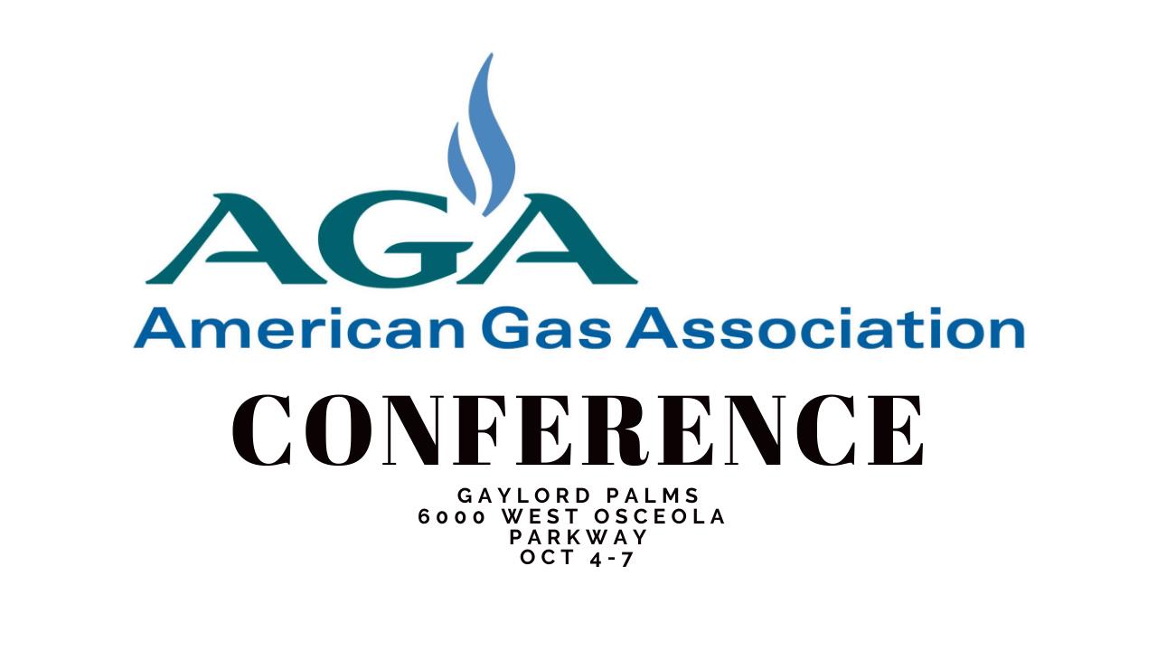 AGA Conference Midstream Calendar