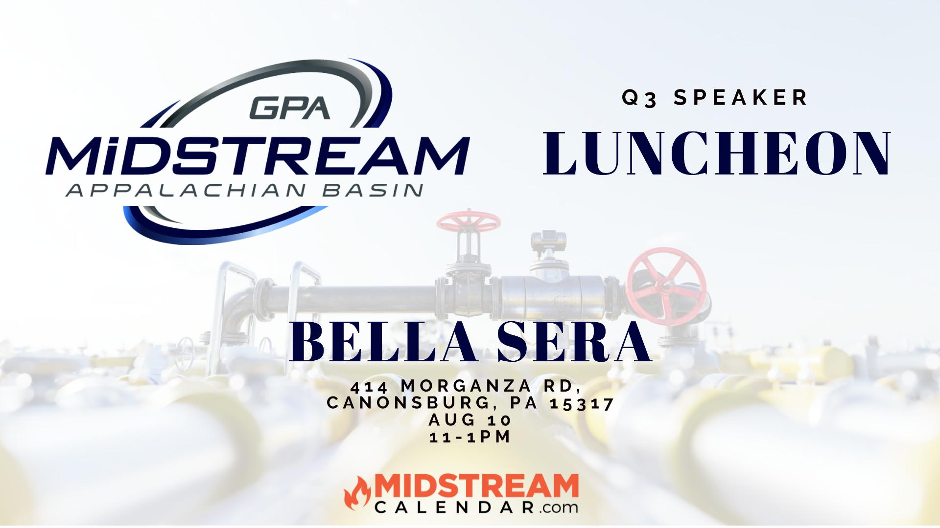 GPA Midstream Appalachian Basin Midstream Calendar