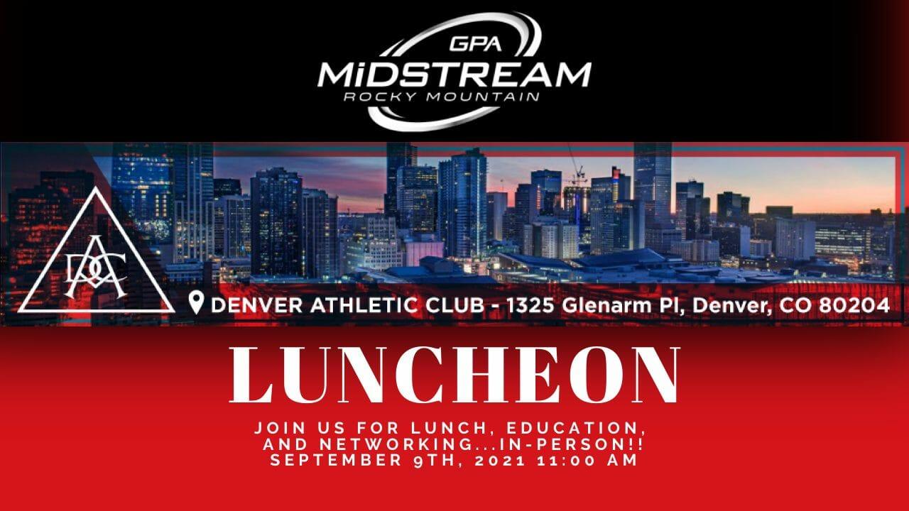 Rocky Mountain GPA Midstream Calendar