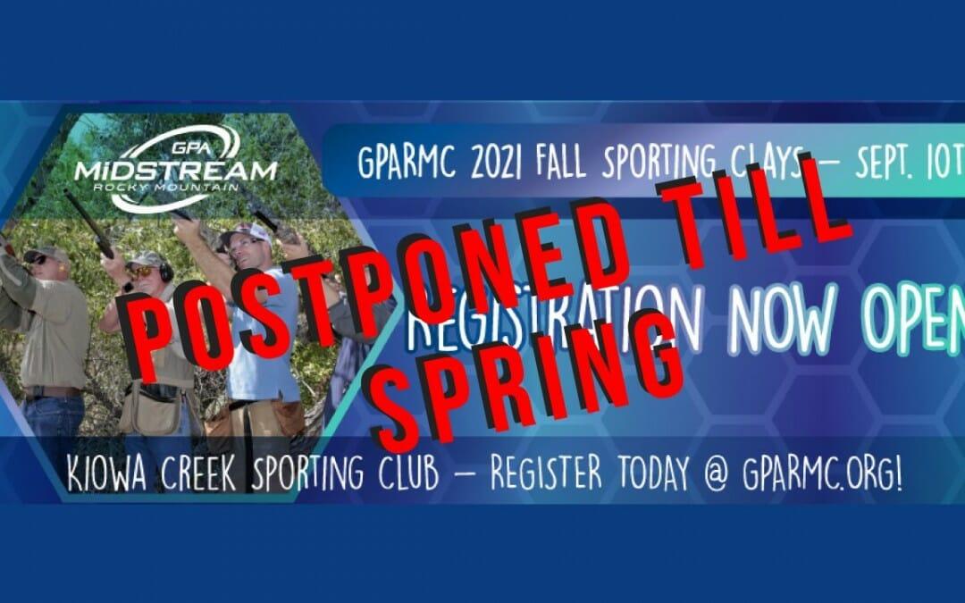 Rocky Mountain GPA Midstream Fall Sporting Clays-POSTPONED