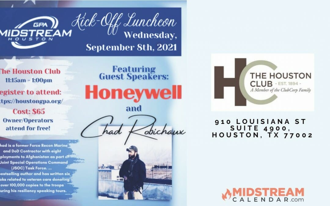 Houston GPA Midstream Monthly Meeting In-Person
