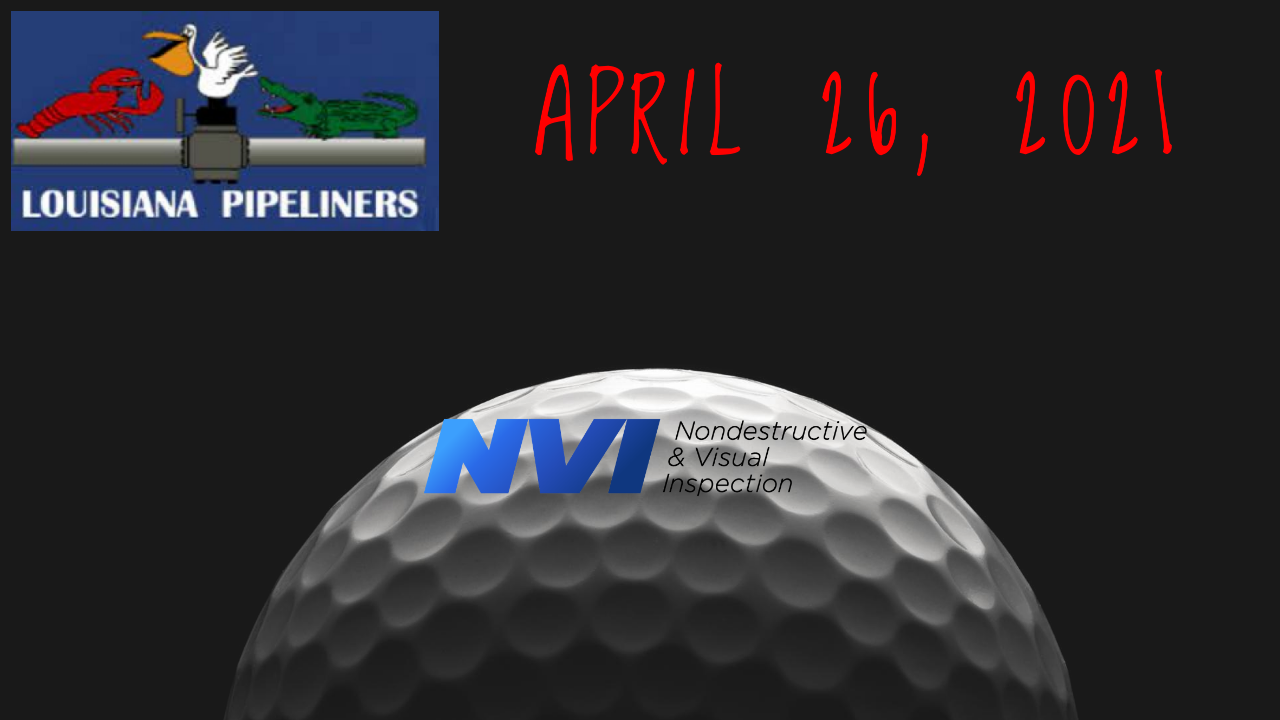 Louisiana Pipeliners Spring Golf Tournament 2021