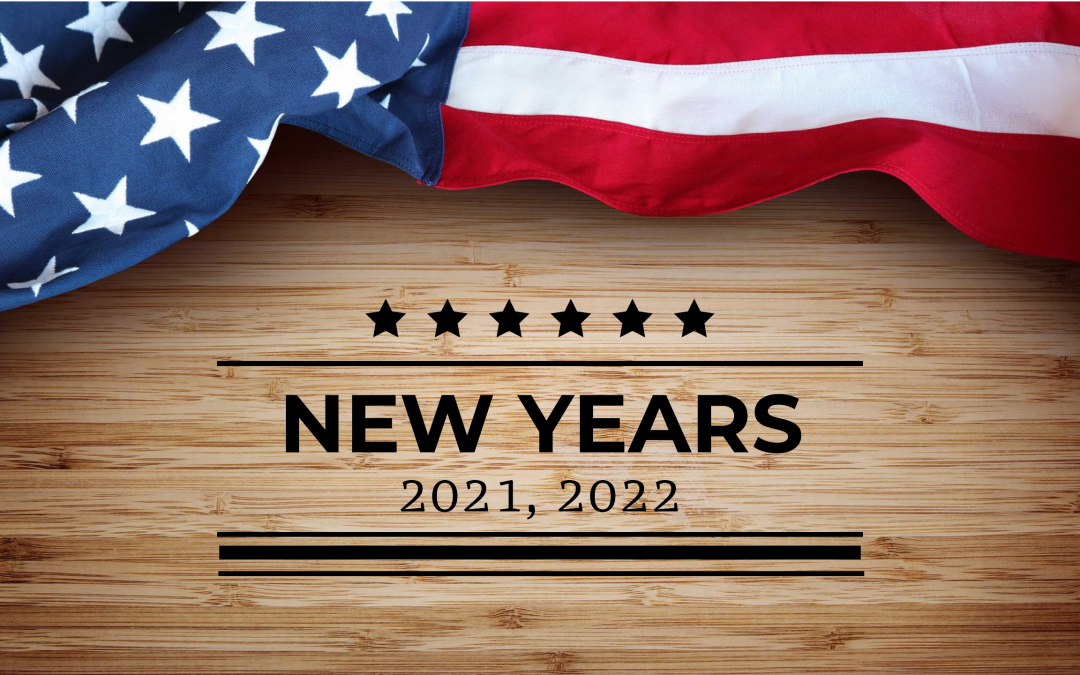 New Years Eve & Day 2021-2022