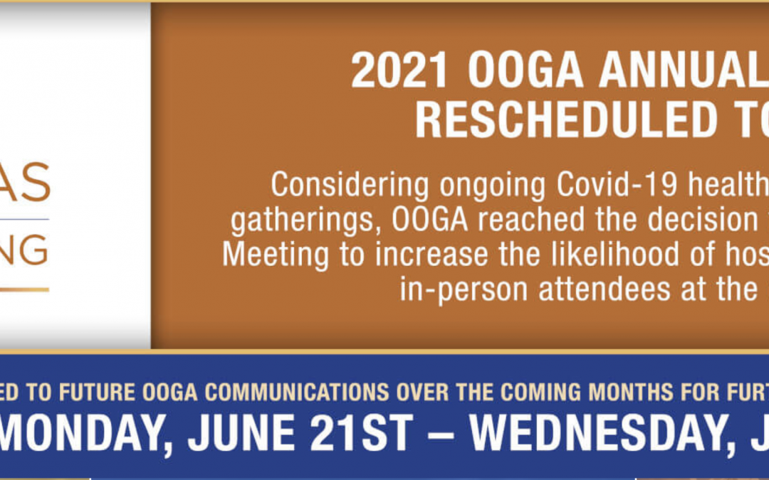Ohio Oil And Gas Association (OOGA) Golf & Annual Meeting 21-23