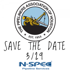 Pipeliners Association of Houston Save The Date for the Spring Golf Tournament 2021