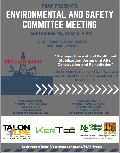 September Environmental & Safety Committee Meeting