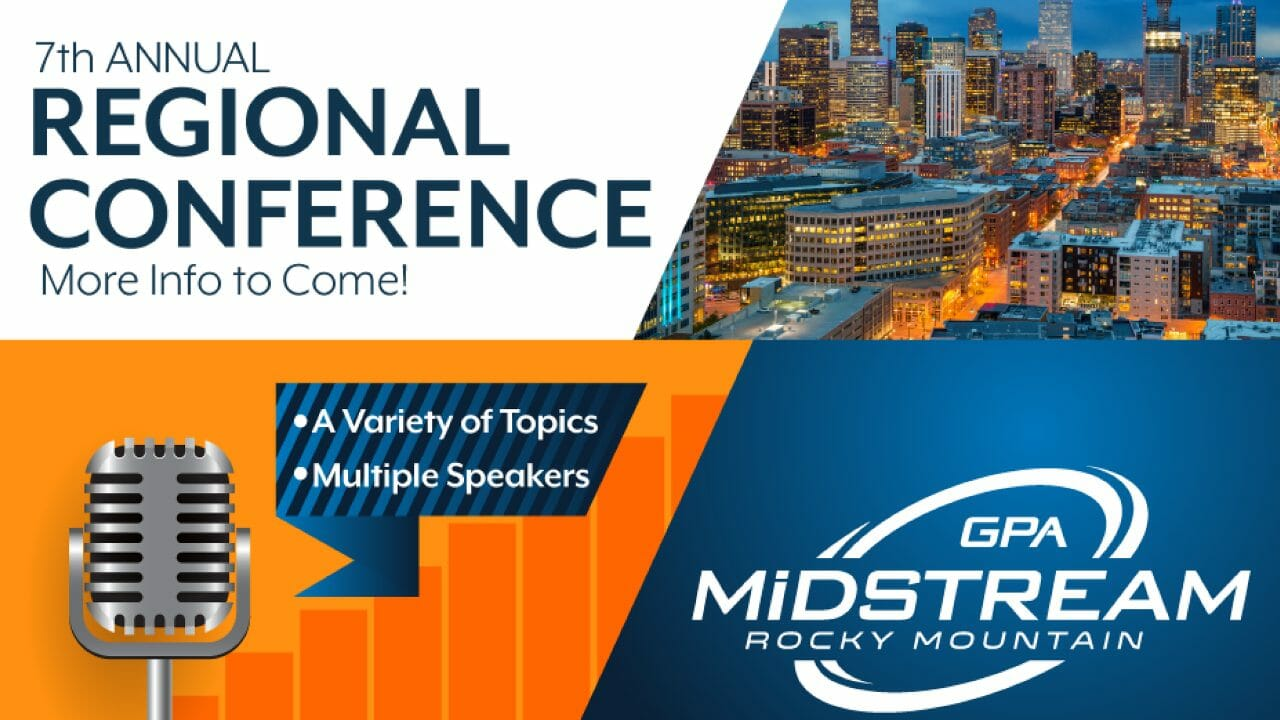 GPARMC Annual Conference Midstream Calendar