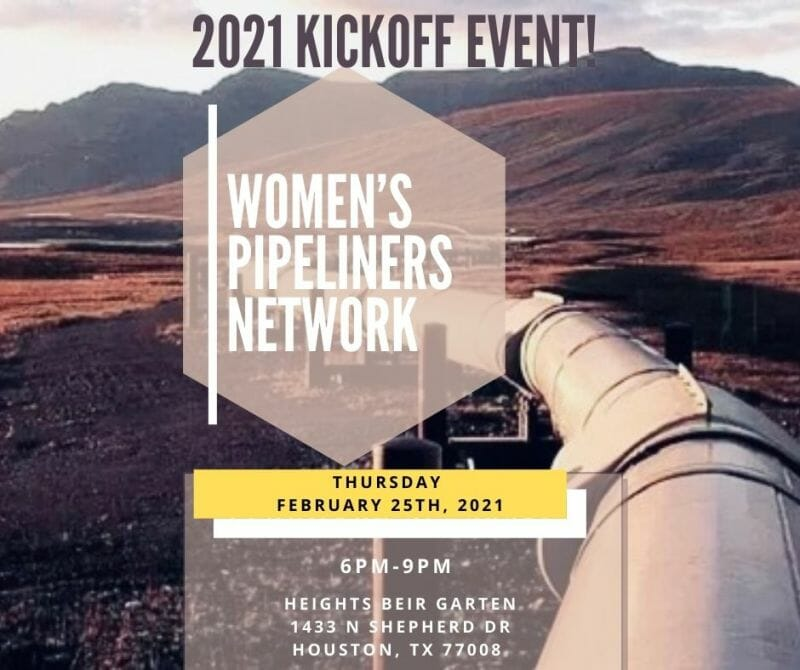 Women's Pipeliners Network 2021 Kickoff Event (Houston)