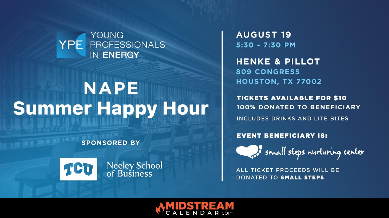 Young Professionals in Energy NAPE OTC Happy Hour