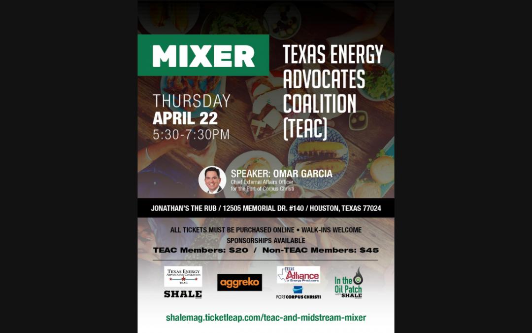 (TEAC) Texas Energy Advocates & Midstream Mixer – Houston