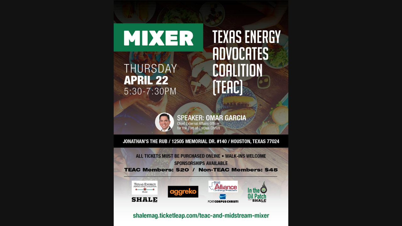 Texas Energy Advocates Coalition Mixer