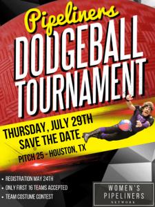 Women's Pipeliners Network Dodgeball Tournament